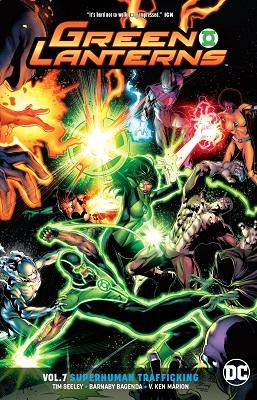 Green Lanterns: Volume 7: Superhuman Trafficking TP