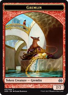Gremlin Token - Red - 2/2