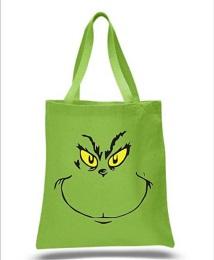 Dr. Seuss The Grinch Canvas Tote Bag