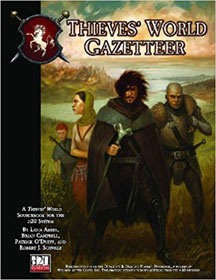 D20: Thieves' World Gazetteer Role Playing - USED