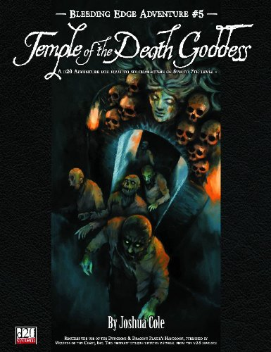 D20: Bleeding Edge Adventure no. 5: Temple of the Death Goddess - Used