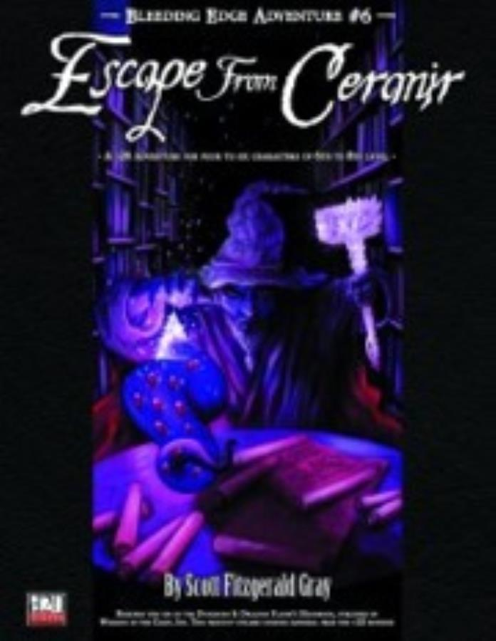 D20: Bleeding Edge Adventure no. 6: Escape from Ceranir - Used