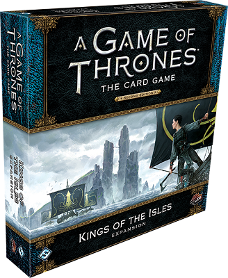 A Game of Thrones LCG 2nd: King of the Isles Expansion