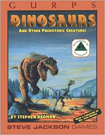 Gurps 3rd : Dinosaurs : And Other Prehistoric Creatures - Used