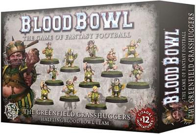 Blood Bowl: Halfling Team - Greenfield Grasshuggers 200-65
