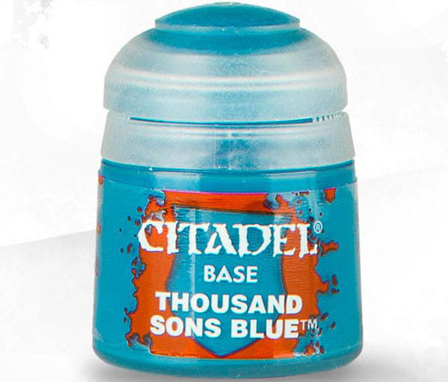 Citadel Base Paint: Thousand Sons Blue 21-36