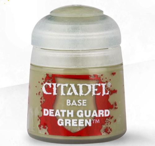 Citadel Base Paint: Deathguard Green 21-37
