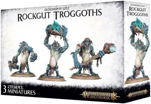 Warhammer: Age of Sigmar: Gloomspite Gitz: Rockgut Troggoths 89-33