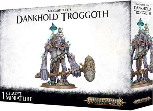 Warhammer: Age of Sigmar: Gloomspite Gitz: Dankhold Troggoth 89-50
