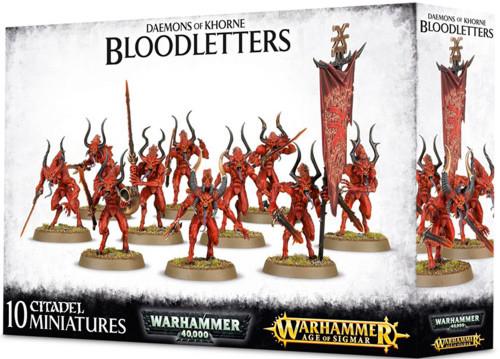 Warhammer 40k: Daemons of Khorne Bloodletters