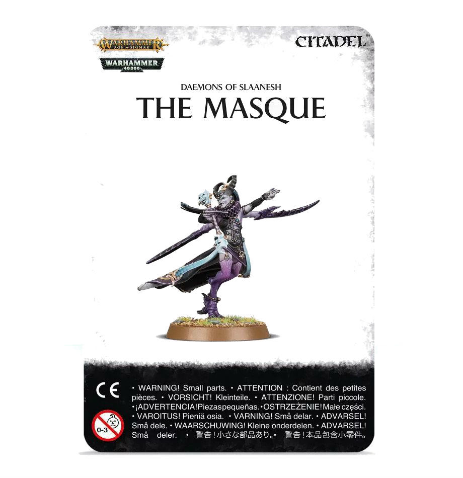 Warhammer: Age of Sigmar: Deamons of Slaanesh: The Masque 97-65