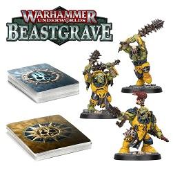 Warhammer Underworlds: Beastgrave: Morgok's Krushas 110-88-60