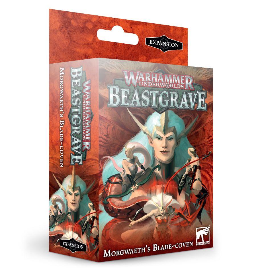 Warhammer Underworlds: Beastgrave: Morgwaeth's Blade-Coven 110-89-60