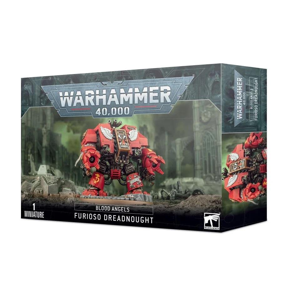 Warhammer 40K: Blood Angels Furioso Dreadnought 41-11