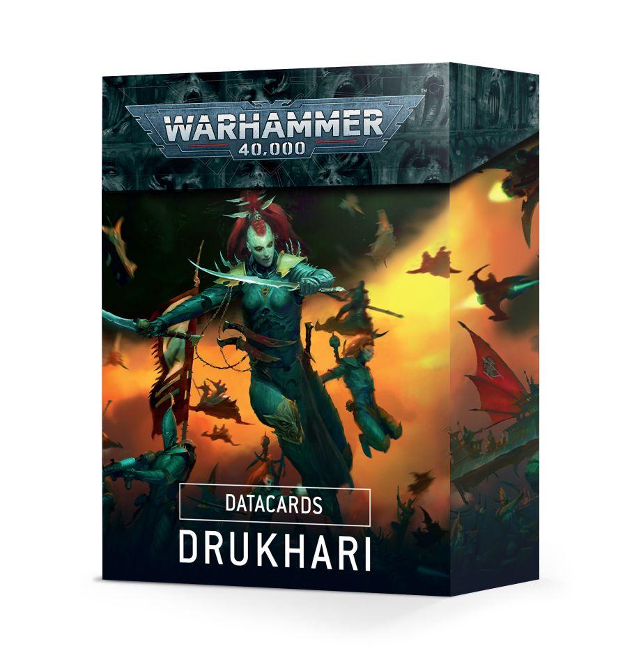 Warhammer 40K: Datacards: Drukhari 45-02