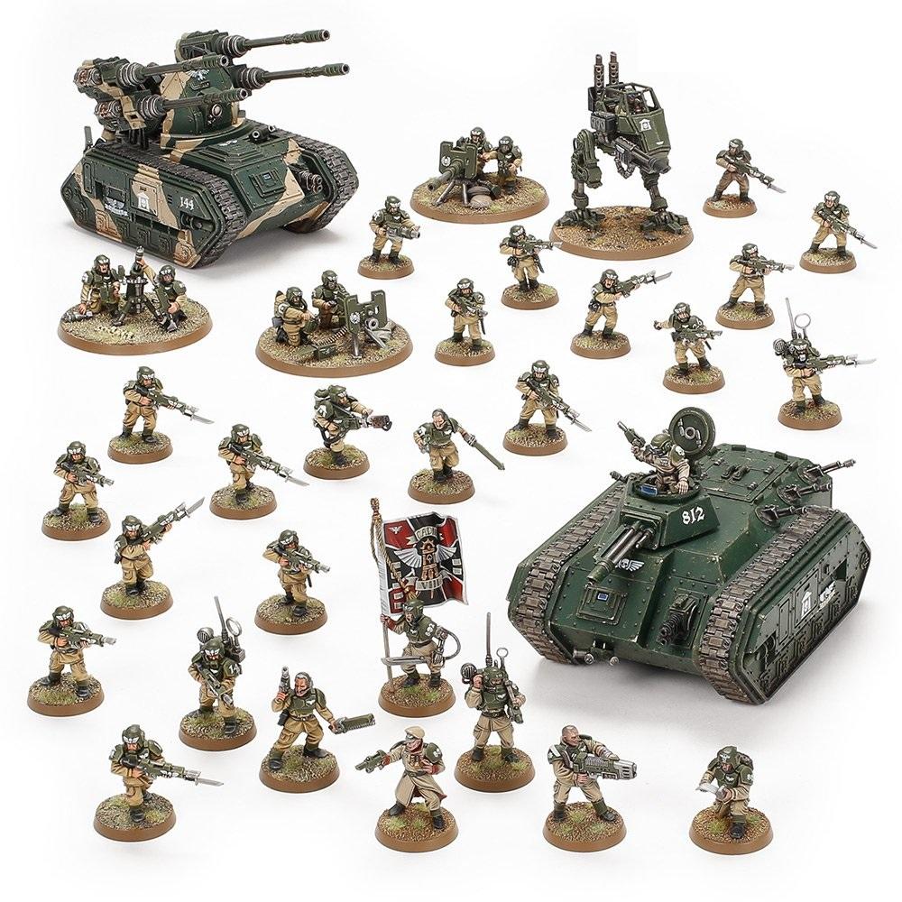 Warhammer 40K: Astra Militarum: Bastion Platoon 47-29