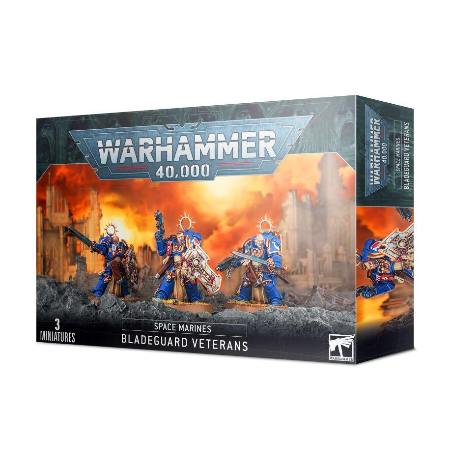 Warhammer 40K: Space Marines: Bladeguard Veterans 48-44