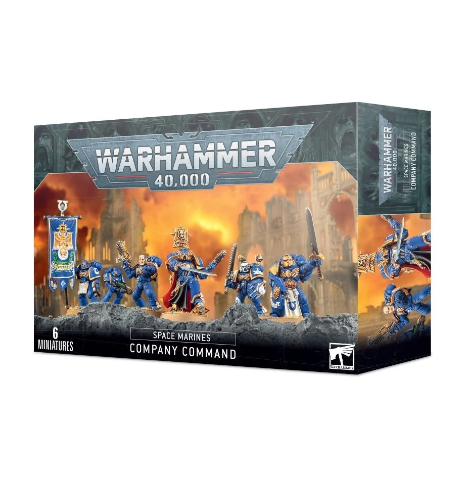 Warhammer 40K: Space Marines: Company Command 48-51