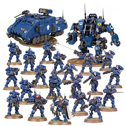Warhammer 40K: Space Marines: Interdiction Force 48-99