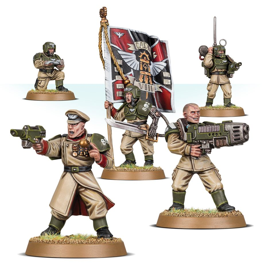 Warhammer 40k: Cadian Command Squad 47-09