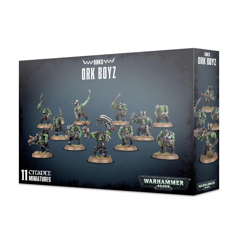 Warhammer 40k: Ork Boyz