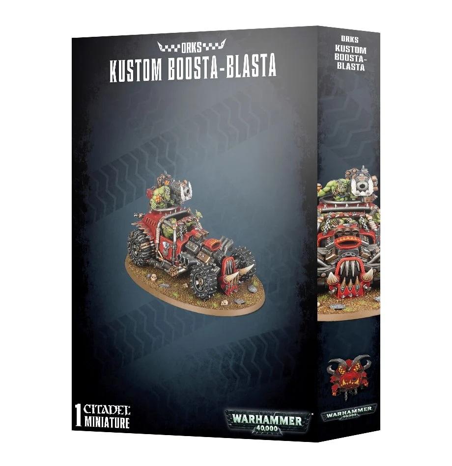 Warhammer 40K: Orks Kustom Boosta-Blasta 50-37