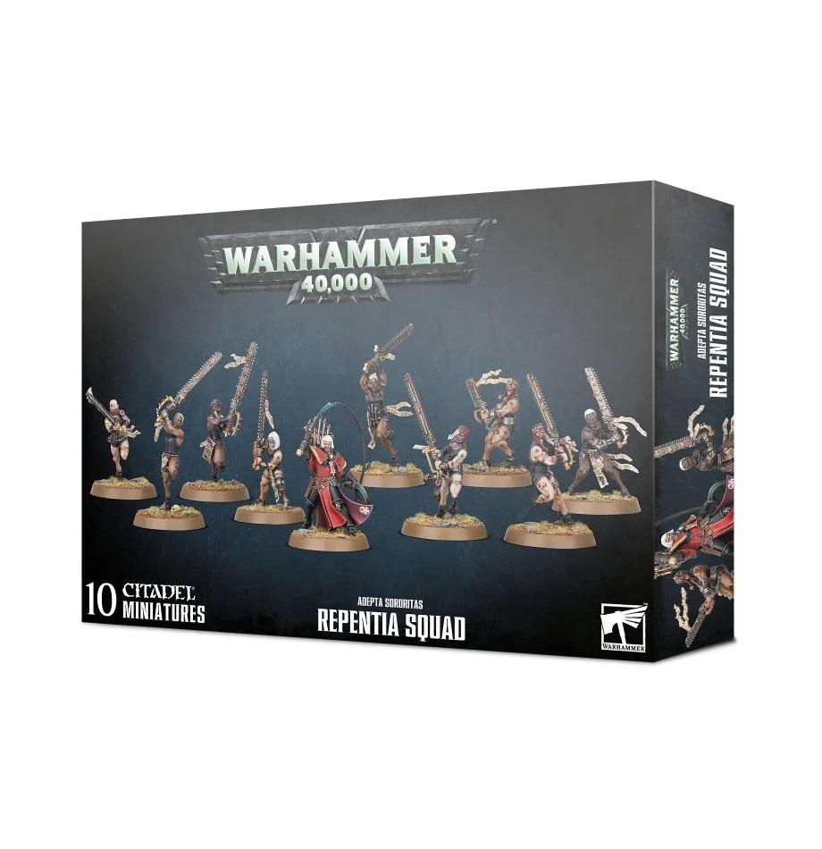 Warhammer 40K: Adepta Sororitas: Repentia Squad 52-23