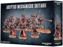 Warhammer 40k: Adeptus Mechanicus Skitarii