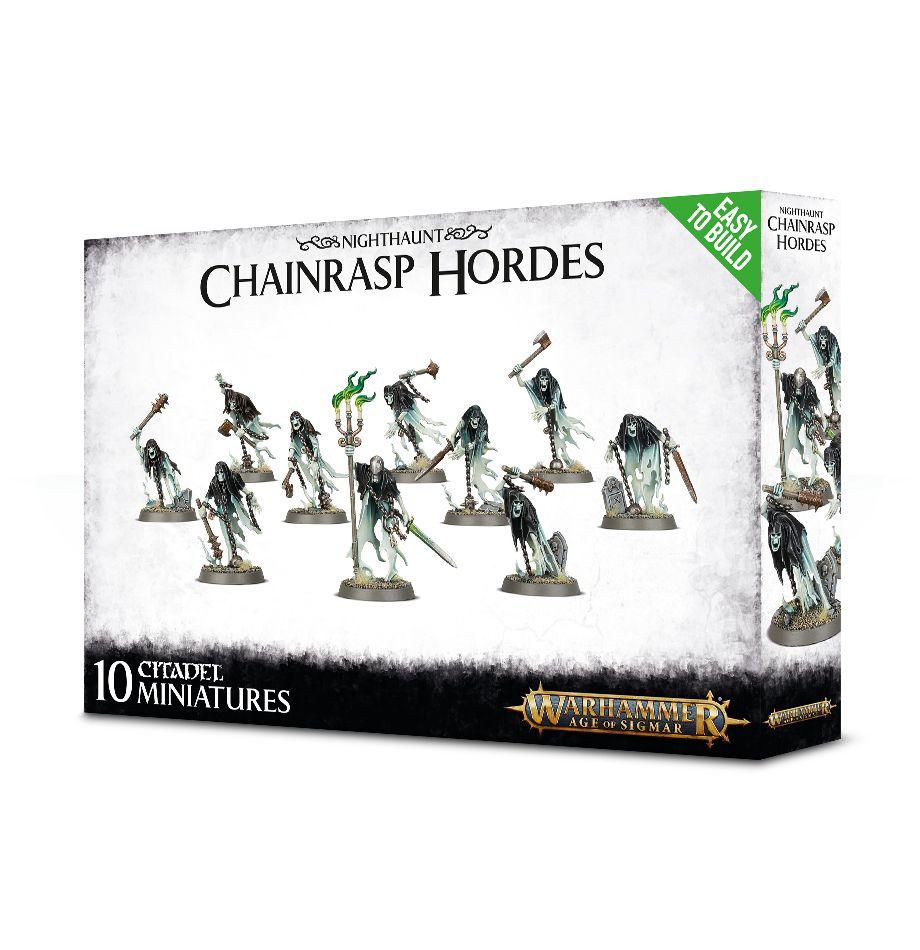 Warhammer: Age of Sigmar: Nighthaunt: Easy to Build: Chainrasp Hordes 71-14