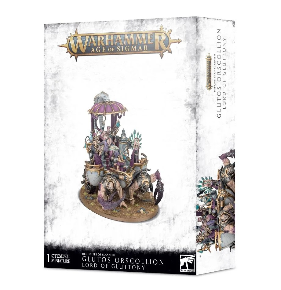 Warhammer Age of Sigmar: Hedonites of Slaanesh: Lord of Gluttony 83-82