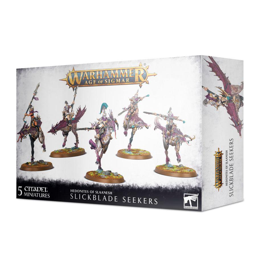 Warhammer Age of Sigmar: Hedonites of Slaanesh: Slickblade Seekers 83-86