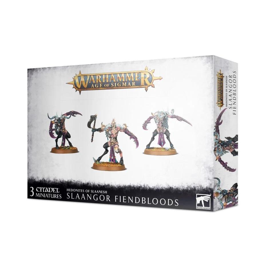 Warhammer Age of Sigmar: Hedonites of Slaanesh: Slaangor Fiendbloods 83-89