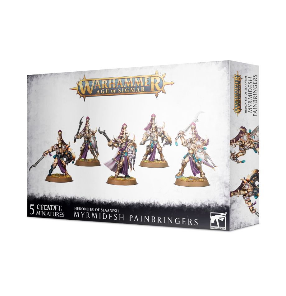 Warhammer Age of Sigmar: Hedonites of Slaanesh: Myrmidesh Painbringers 83-90