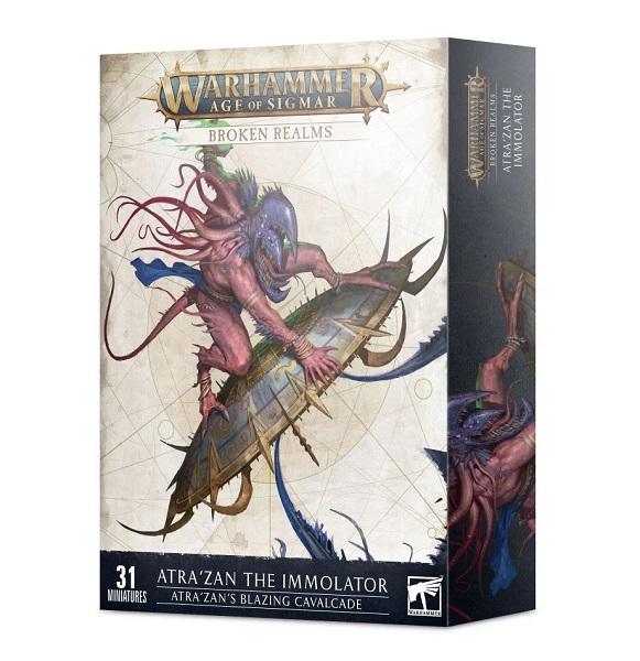 Warhammer Age of Sigmar: Broken Realms: Atra'zan's Blazing Cavalcade 83-99