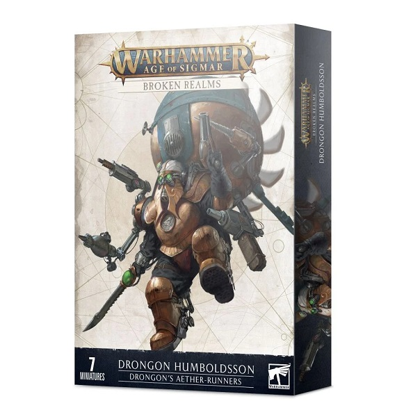Warhammer Age of Sigmar: Broken Realms: Drongon's Aether-Runners 84-45