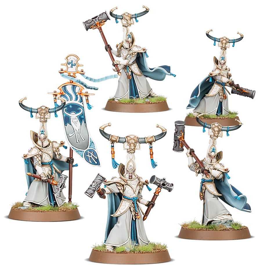 Warhammer Age of Sigmar: Lumineth Realm-Lords: Alarith Stoneguard 87-54