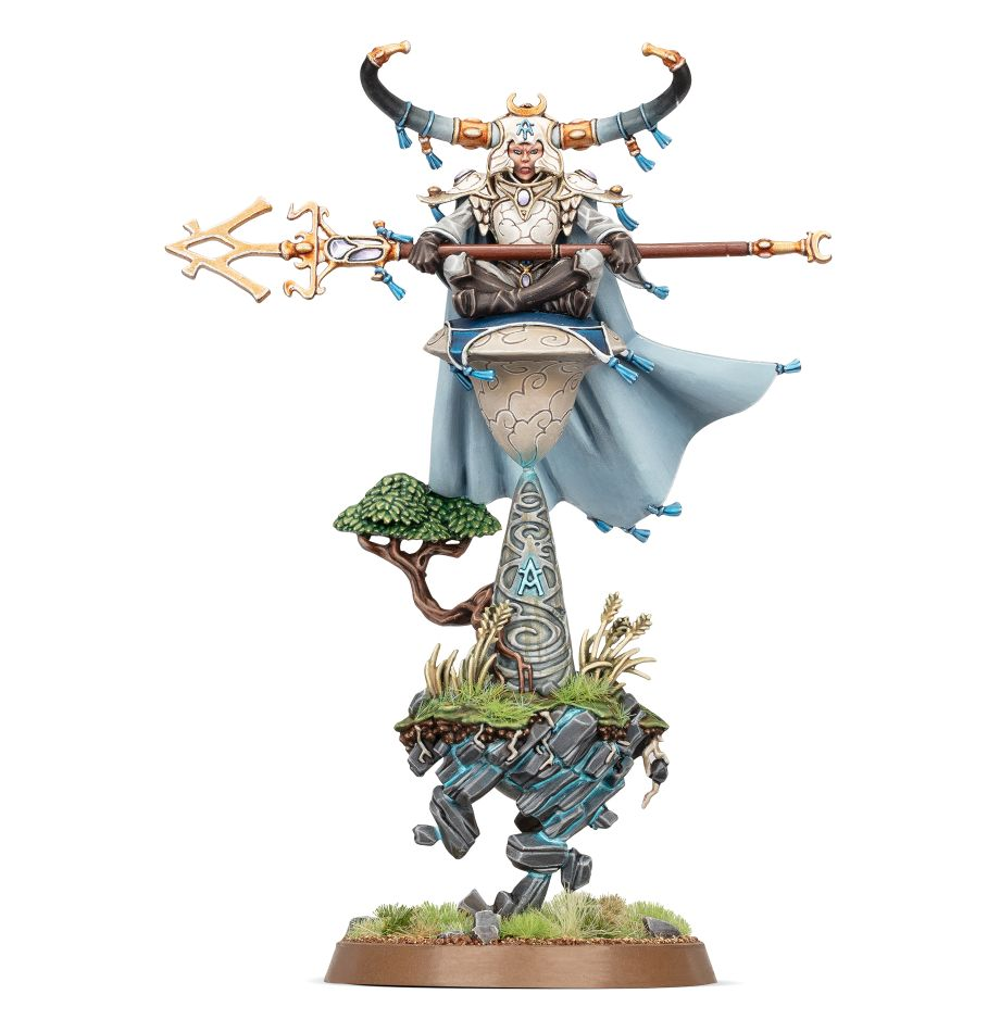 Warhammer Age of Sigmar: Lumineth Realm-Lords: Alarith Stonemage 87-55