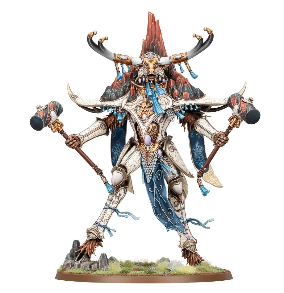 Warhammer Age of Sigmar: Lumineth Realm-Lords: Avalenor the Stoneheart King 87-56