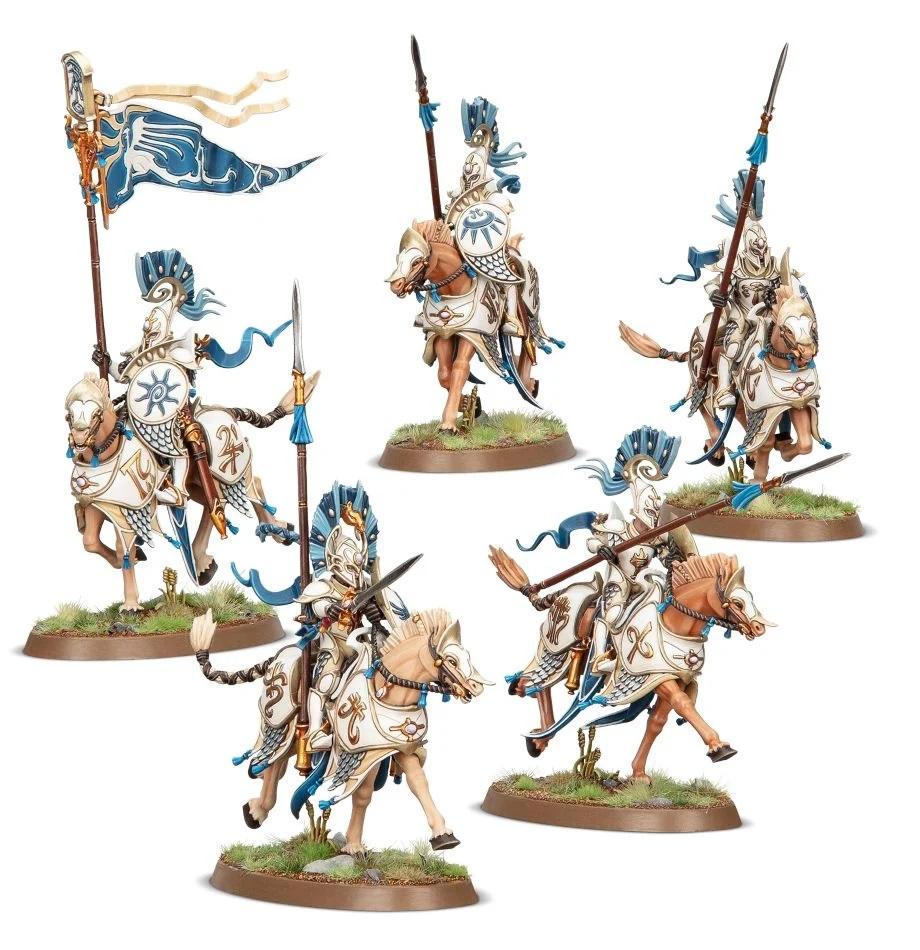 Warhammer Age of Sigmar: Lumineth Realm-Lords: Vanari Dawnriders 87-60