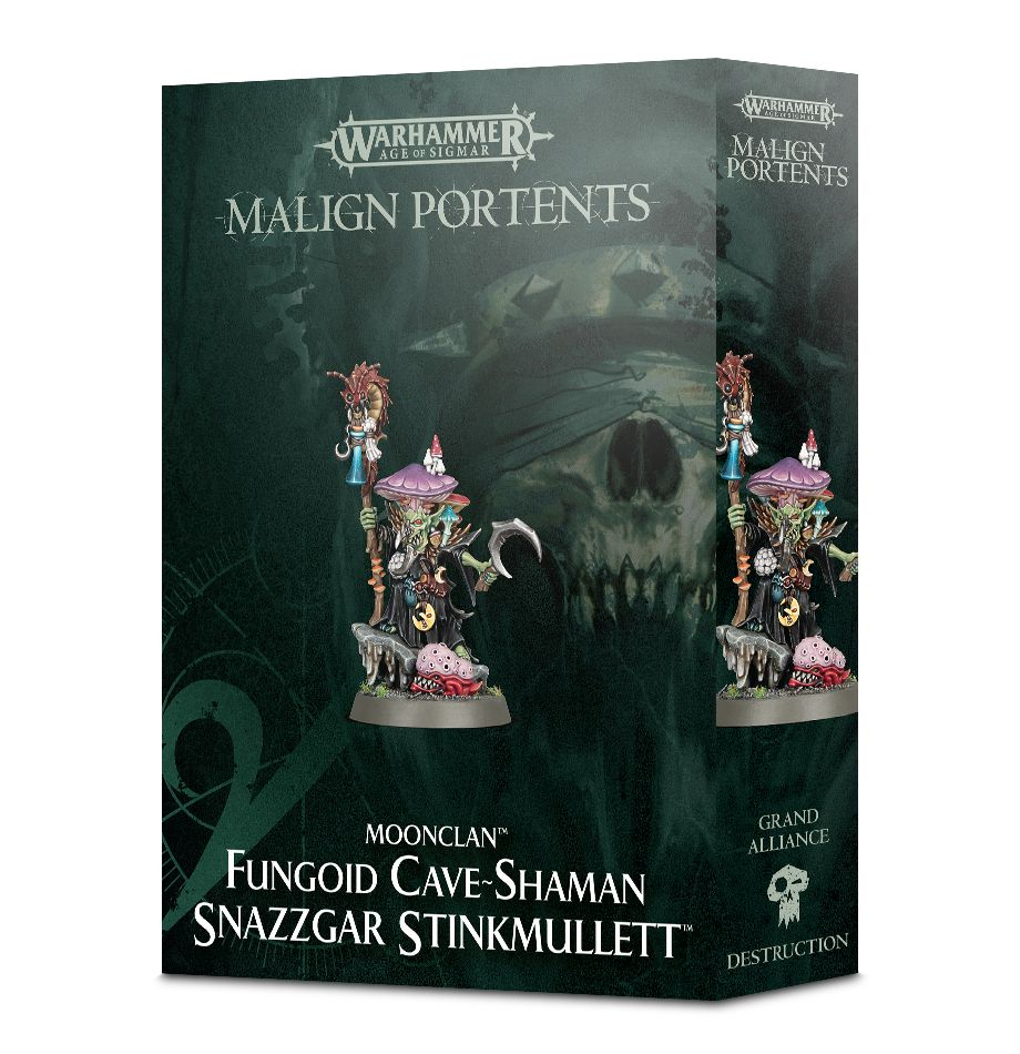 Warhammer 40k: Age of Sigmar: Moonclan Snazzgar Stinkmullett 89-08