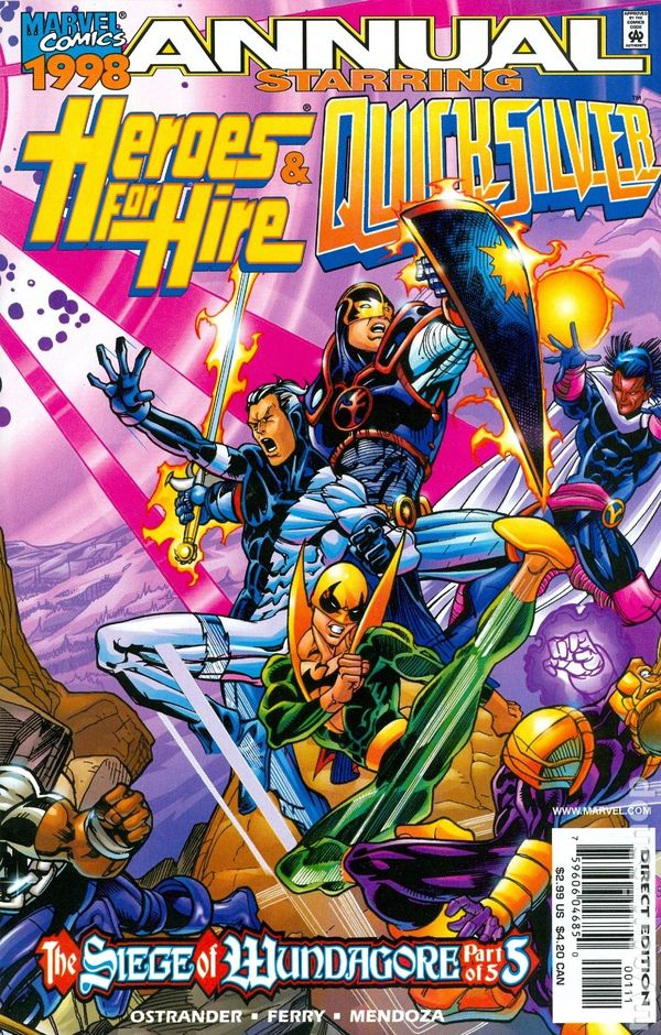 Heroes For Hire (1997) Annual no. 1- Used