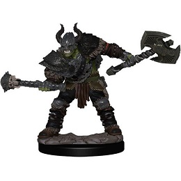 Pathfinder Battles: Premium Painted Figure: Wave 1 Half-Orc Barbarian Male