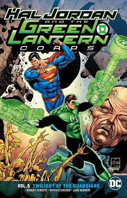 Hal Jordan and the Green Lantern Corps: Volume 5: Twilight of the Guardians TP