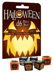 Halloween Dice Set