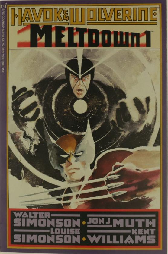 Havok and Wolverine Meltdown Complete Bundle - Used