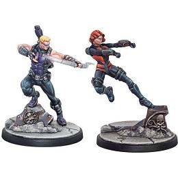 Marvel Crisis Protocol: Hawkeye and Black Widow