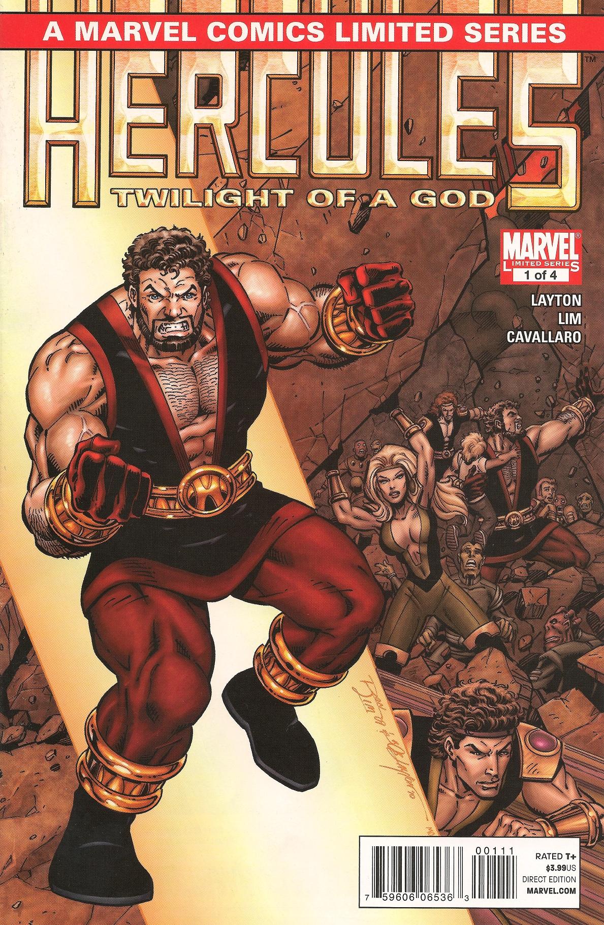 Hercules Twilight of a God (2010) Complete Bundle - Used
