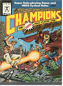 Champions: the Super Role-Playing Game: 1989 Copy #400 HC - USED