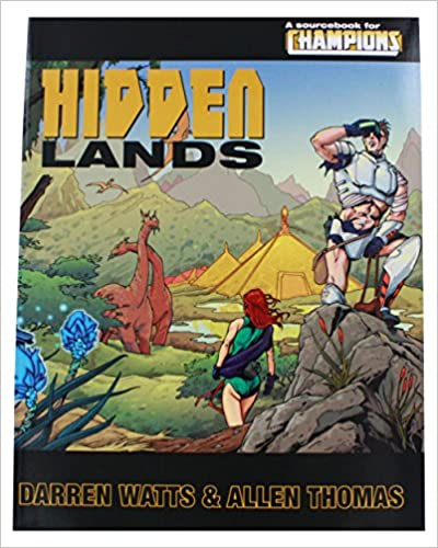 Champions RPG 5th ed: Hidden Lands - Used