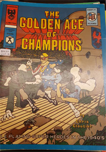 Hero: The Golden Age of Champions Role Playing - Used